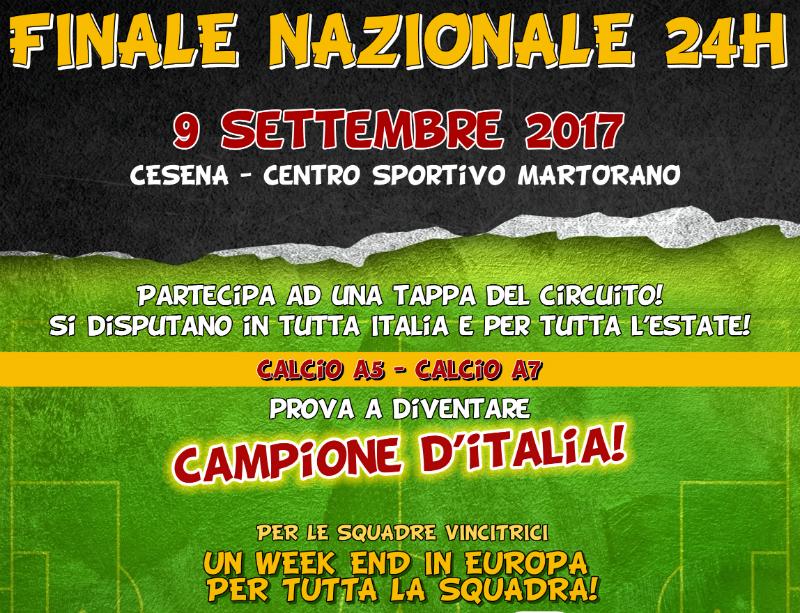 Finale nazionale 2017