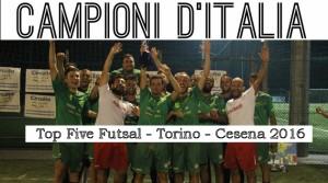 Campioni d'Italia Calcio a5