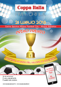 Coppa Italia Amatoriale 2018