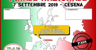 Finale 2019 – torneo calcio a 5 e calcio a 7